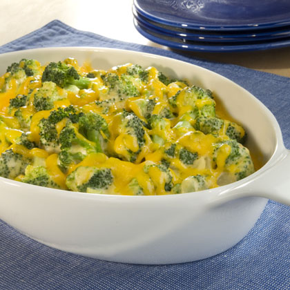 Broccoli Rice Cheese Casserole Real Food Recipe