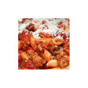 Penne with Turkey Tomato Ragu