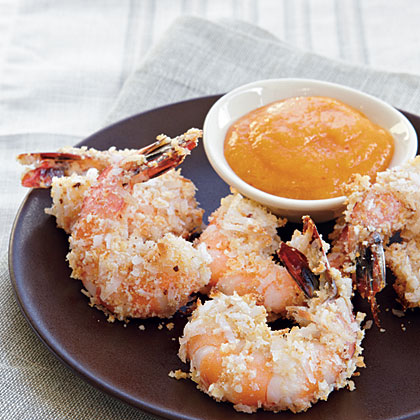 Coconut Shrimp with Mango Sauce