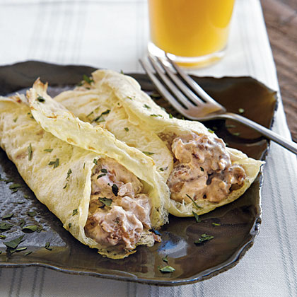 Egg Crepes with SausageRecipe