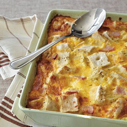 Ham and Cheese Strata Recipe