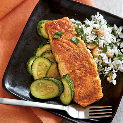 Indian Spiced Salmon Recipe Myrecipes Myrecipes