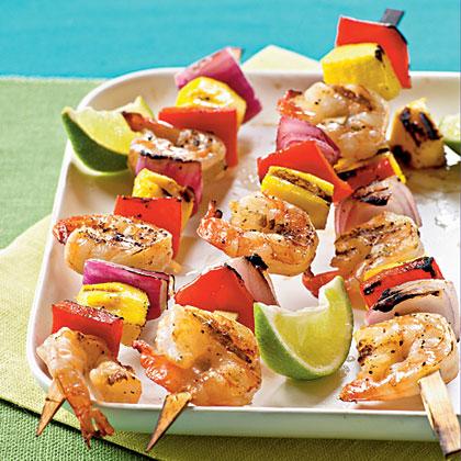 Mango Shrimp KebabsRecipe