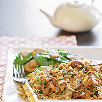Spicy Asian Noodles with ChickenRecipe