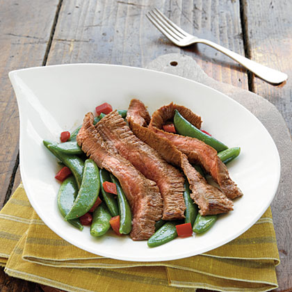 Spicy Asian-Marinated Flank Steak