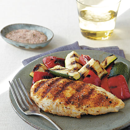 Spicy Herb-Rubbed Grilled ChickenRecipe