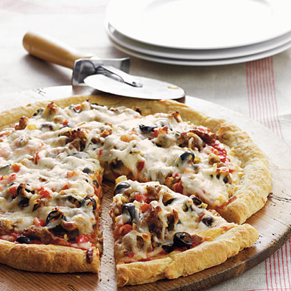 """The Works"" Pizza Recipe"