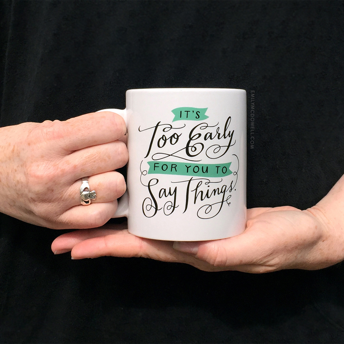 Stylish Coffee MugsIt's hard not to love one of these adorable mugs from designer Emily McDowell's collection. For the coffee lover in your life, look no further than a mug with a personal saying that seems to describe exactly who you're buying for. We  especially love this one shown here.