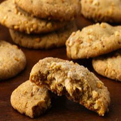 Double-Delight Peanut Butter Cookies</p><p>