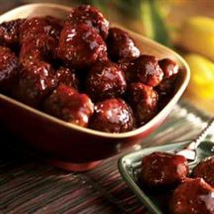 Savory Glazed Meatballs