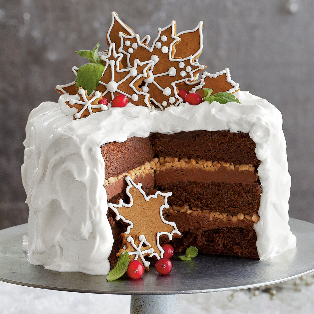 Chocolate Gingerbread Toffee Cake Crop