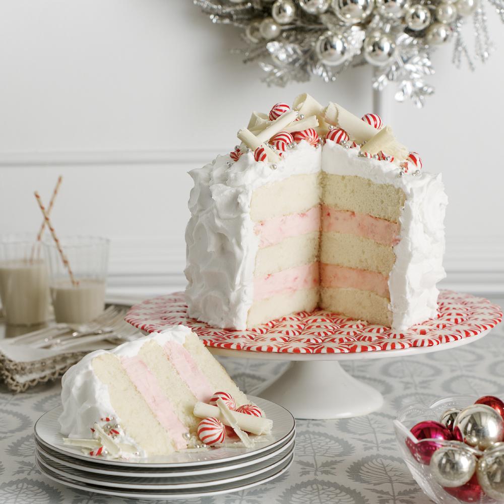 Layered Peppermint Cheesecake Recipe