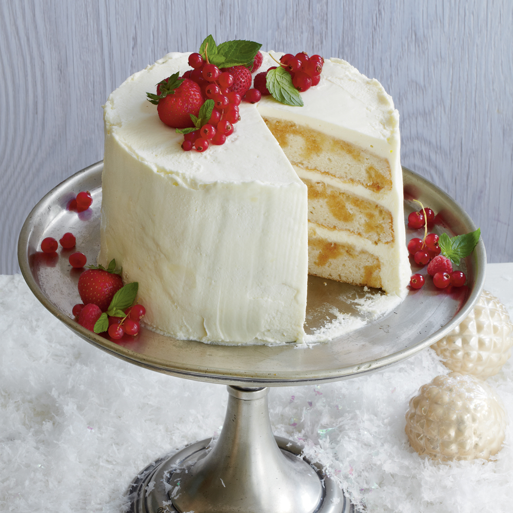 Tiramis Layer Cake Recipe MyRecipes