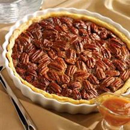 <p>Caramel Pecan Pie</p>