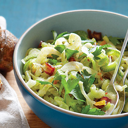 Celery Fennel Salad with Preserved Lemon and Dates Recipe
