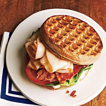 Chicken and Waffle SandwichesRecipe
