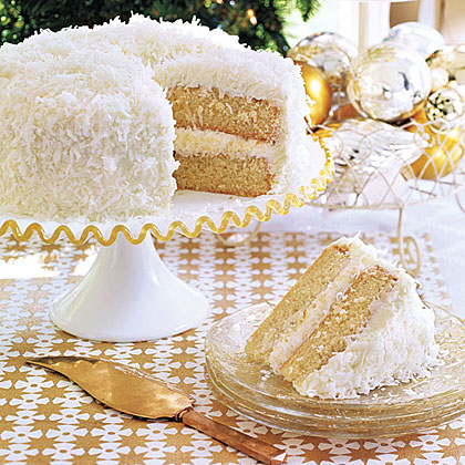 Recipes for coconut layer cakes
