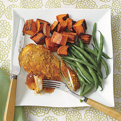 Curried Chicken Breasts
