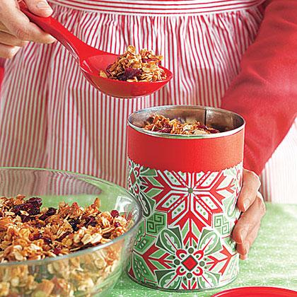 Coconut-Cranberry Granola
