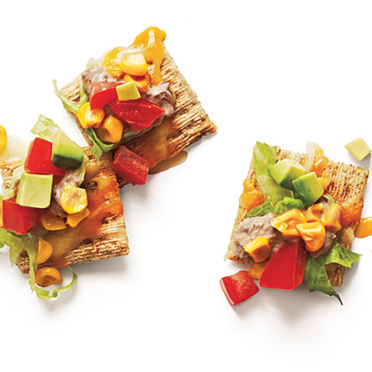 "Healthy Wheat-Cracker ""Nachos"""