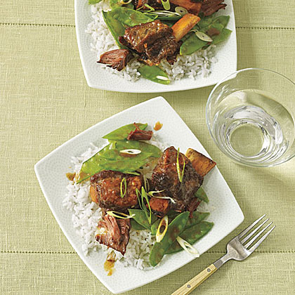 Hoisin Beef Stew with Snow Peas