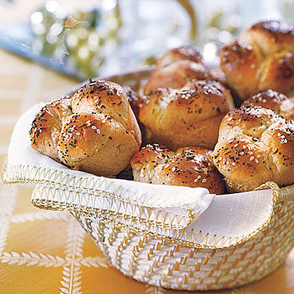 Honey Cloverleaf Rolls