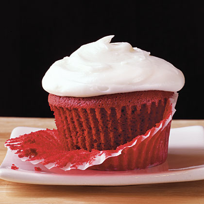 Red Velvet Cupcakes RecipeFor friends or family, a gift of Red Velvet Cupcakes is always a welcomed treat. Don't pass on the signature red food coloring  to attain that unmistakable red cake color of this classic dessert.