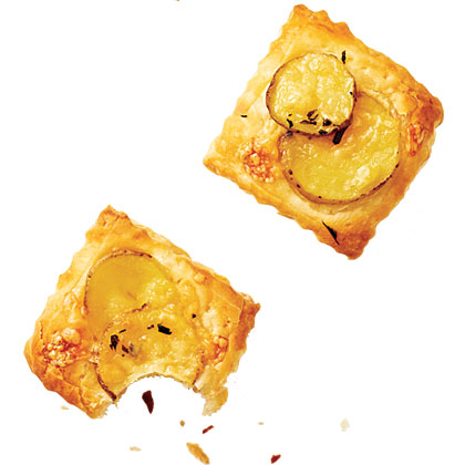 Potato-Gruyere Tartlets
