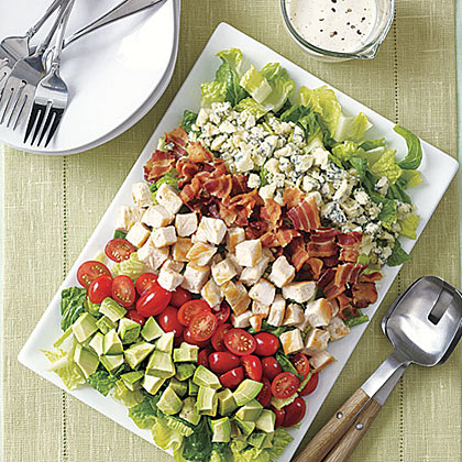 Quick Cobb Salad with Yogurt Dressing Recipe