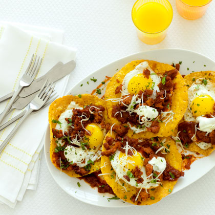 <p>Ranch-Style Eggs with Chorizo</p>