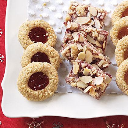 Raspberry-Almond Bars Recipe