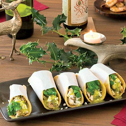 Street-Snack Tacos Verdes Recipe