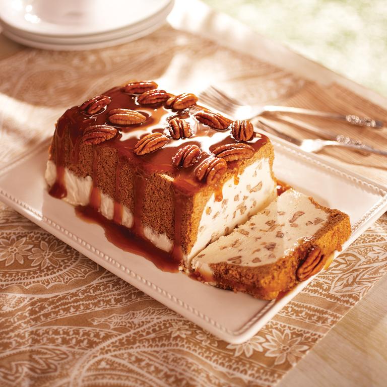 Butter Pecan Ice Cream Loaf Recipe 0