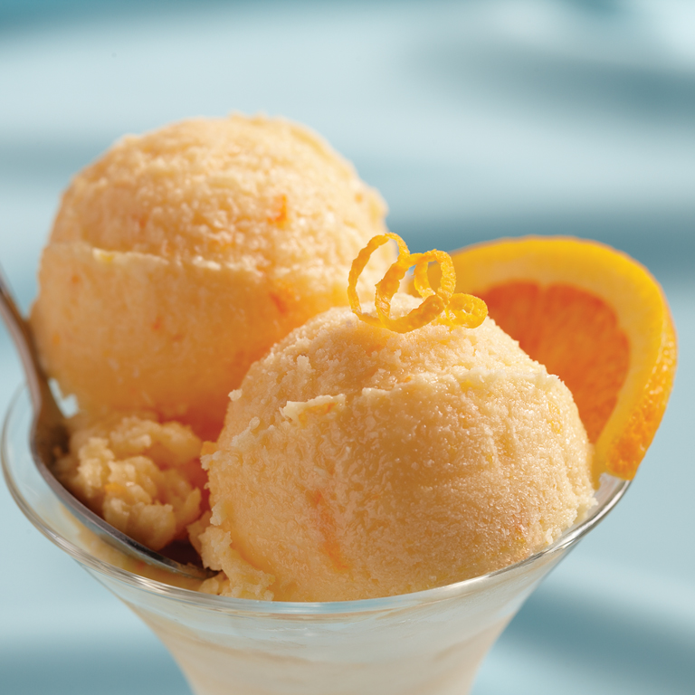 Orange Cream Granita Video