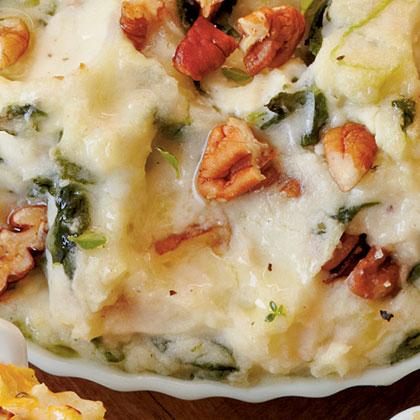 Creamy Spinach Mashed Potato Bake Recipe