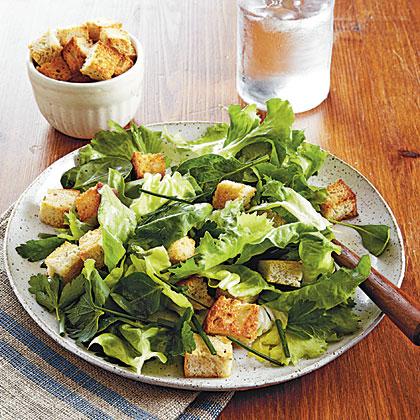 Herbs and Greens Salad
