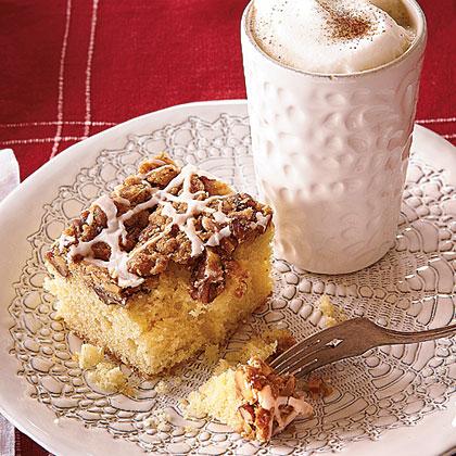 Overnight Coffee Crumble Cake Recipe
