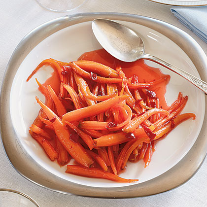 Pepper Jelly-Glazed Carrots