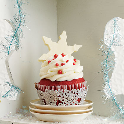 5 star red velvet cupcakes