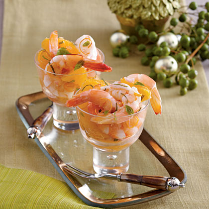 Shrimp and Citrus Cocktail
