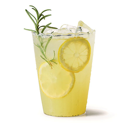 Vanilla-Rosemary Lemonade