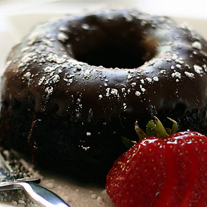 Double Chocolate Chip Bundt Cake