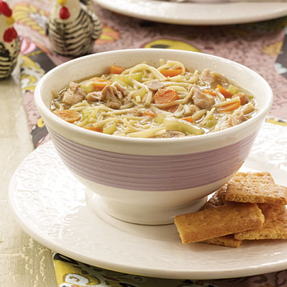 Country Comfort Chicken Soup