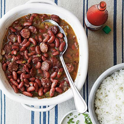 John S Red Beans And Rice Recipe Myrecipes
