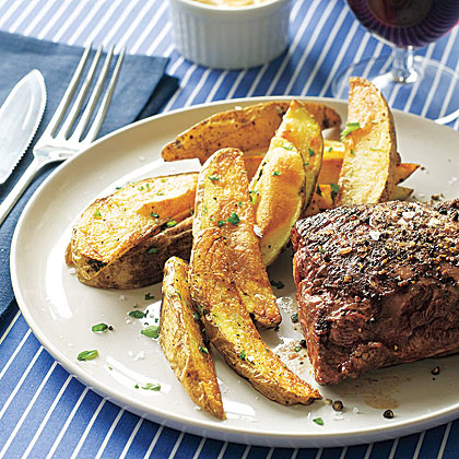Roast Beef Tenderloin With Rosemary Roasted Potatoes