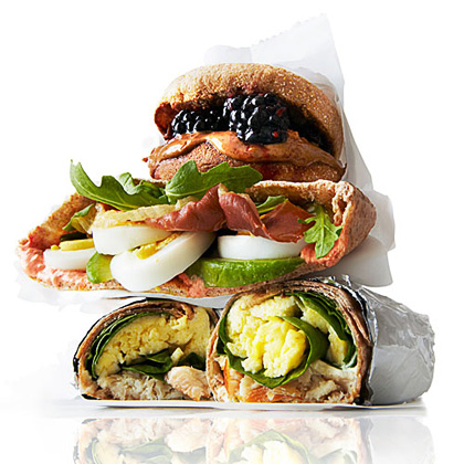 Egg, Avocado, and Crispy Prosciutto Pitas