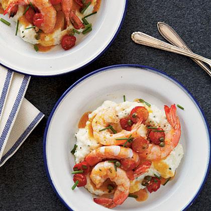 Wesley's Gulf Coast Shrimp and Grits Recipe