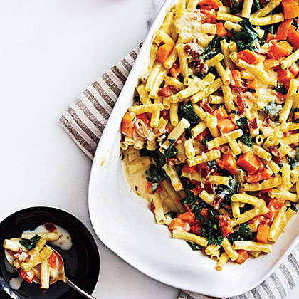 Bacon and Butternut Pasta Recipe