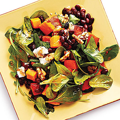 Butternut Squash and Smoky Black Bean Salad