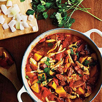 Chicken and Chorizo Stew Recipe